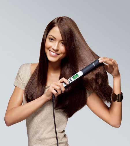Flat Iron And Hair Straightening Brush