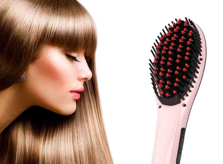 Flat Iron vs Hair Straightening Brush