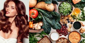 Healthy food for Healthy Hair