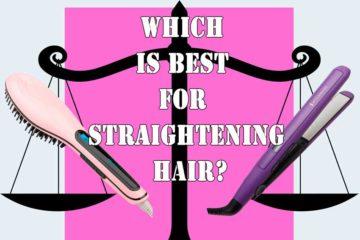 flat-iron-with-hair-brush